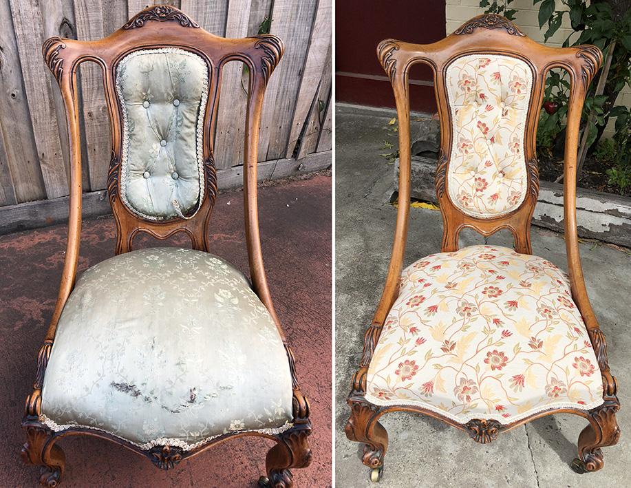 Chair restoration