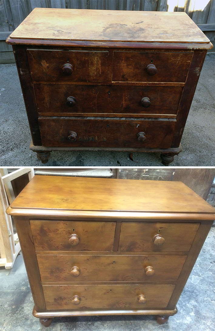 Chest of Drawers Restoration