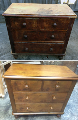 Chest of Drawers Restoration