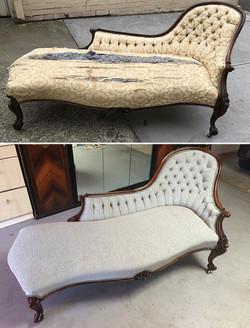 Chaise restoration