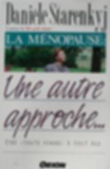 Ménopause, une autre approche,Danièle Starenkyj, Publications Orion