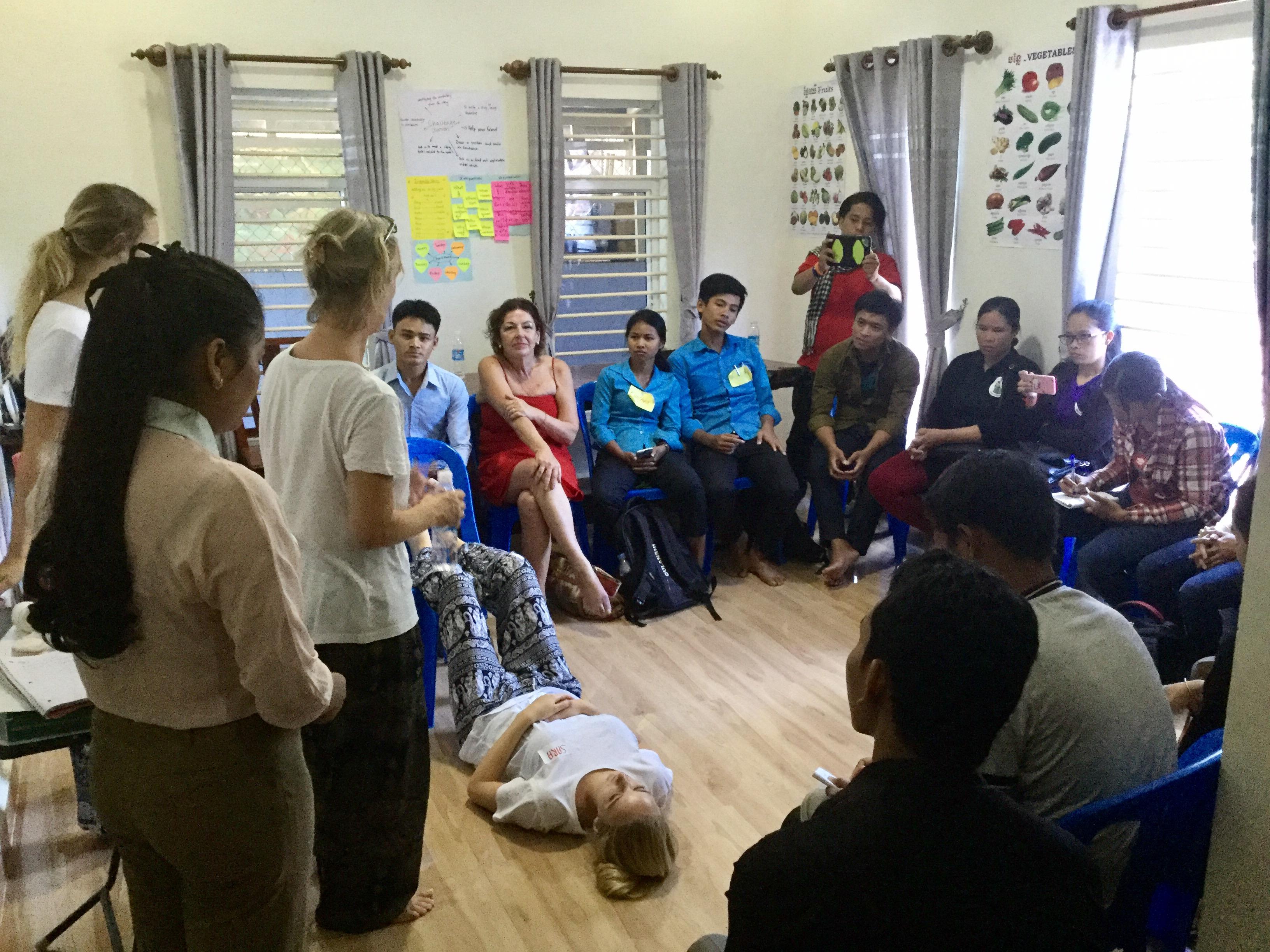 sept 2017: EHBO workshop