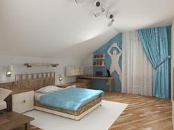 Дизайн комнаты для мальчика.
