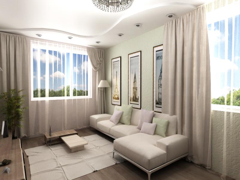 Дизайн гостевой комнаты.