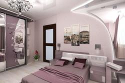 Дизайн спальной комнаты с декоративными элементами
