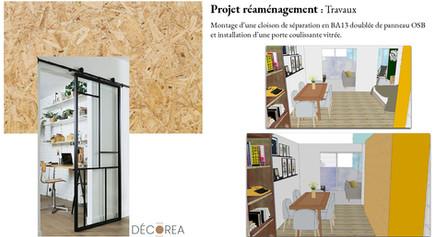 Aménagement appartement