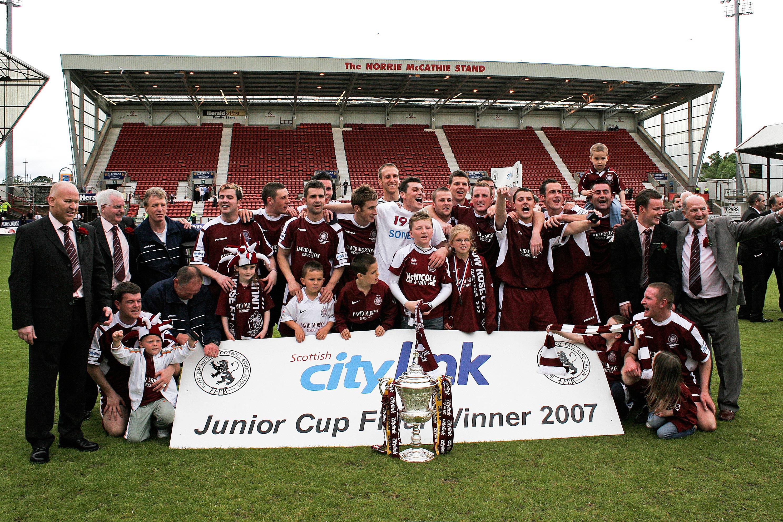 2007 Scottish Junior Cup Winners