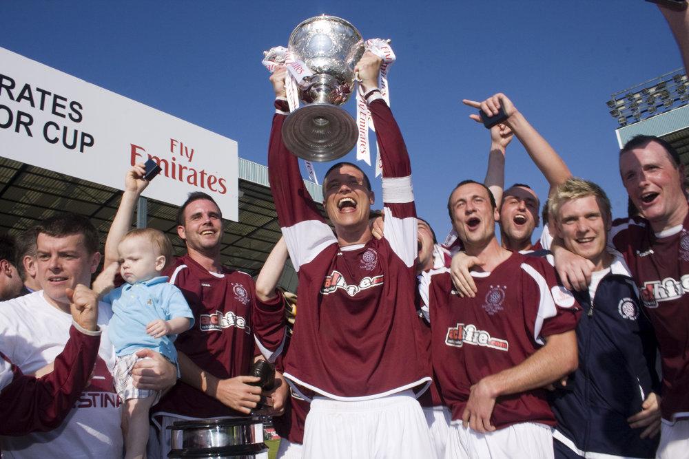 2010 Scottish Cup Winners