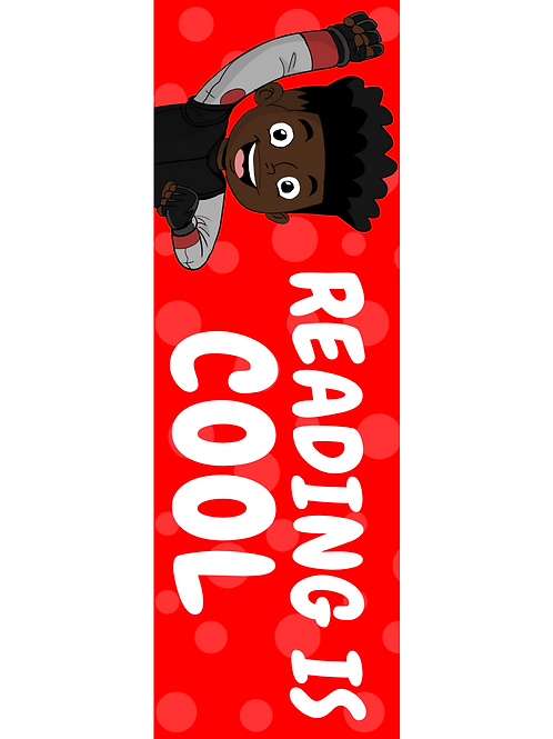"""""""Reading is Cool"""" Bookmark"""