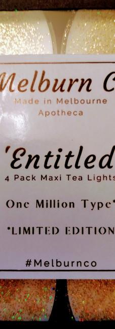 Entitled Large Tea Lights
