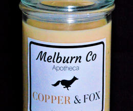 Copper & Fox Large double wick candle