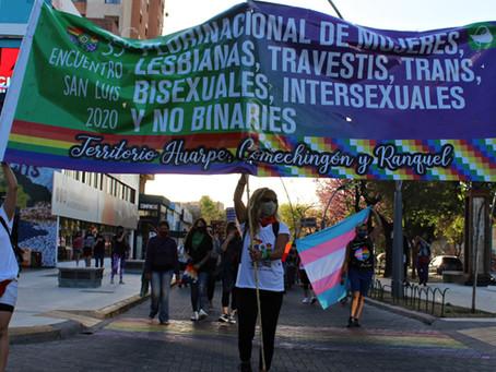 35° Encuentro Plurinacional de Mujeres, Lesbianas, Trans, Travestis, Bisexuales y No Binaries