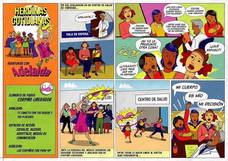 HEROINAS COTIDIANAS - AVENTURAS ADELAIDA