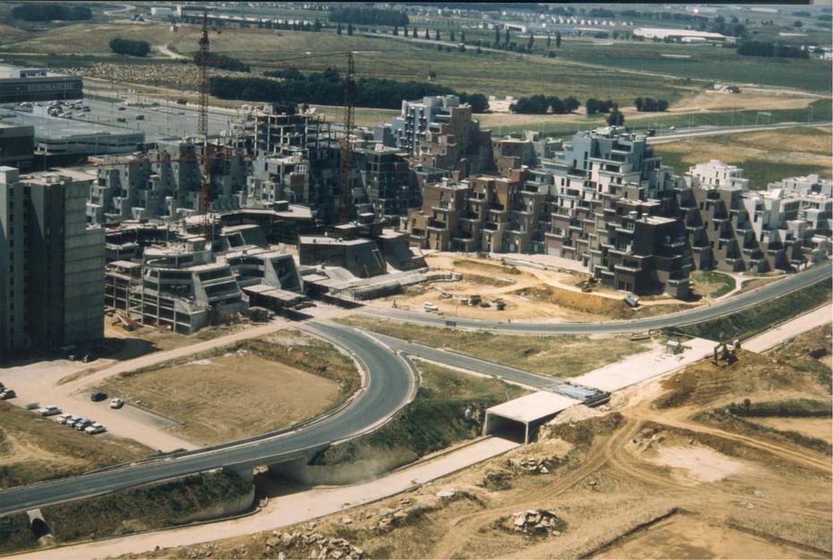 La place des Pyramides en 1974