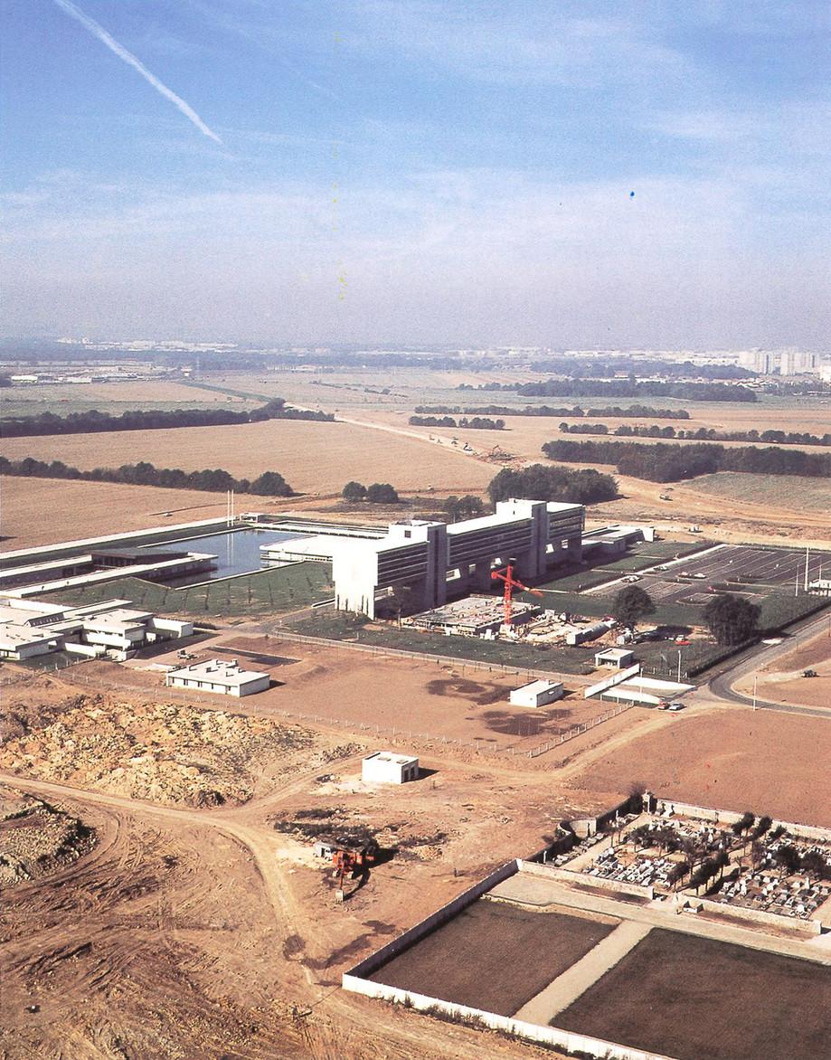 Construction de la préfecture