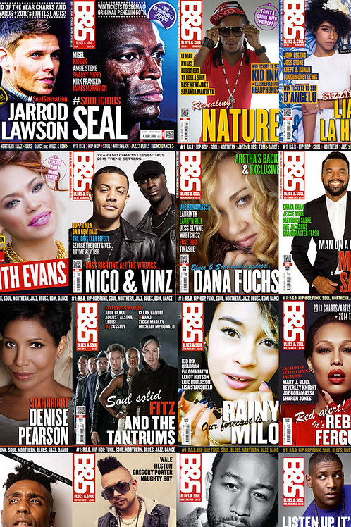 BLUES & SOUL MAGAZINE SUBSCRIPTION 2020/21