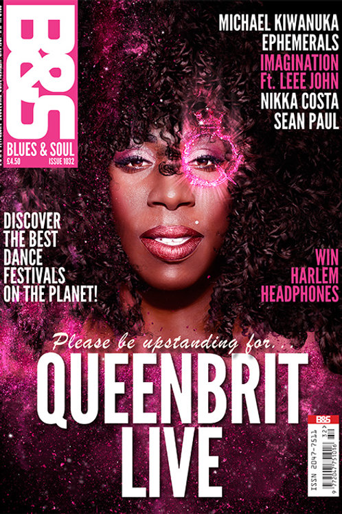 1032: BLUES & SOUL MAGAZINE - MAY/JUNE 2017 (DOUBLE COVER ISSUE)