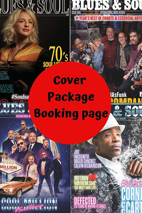 COVER ADVERTISING PACKAGE
