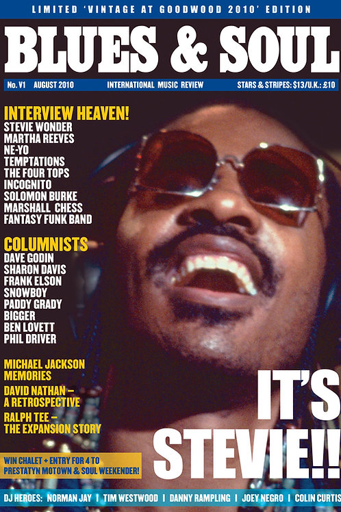 Blues & Soul Vintage Issue (Stevie Wonder)