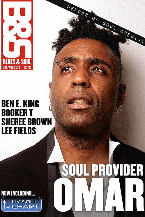 1011: Blues & Soul Magazine - July/August 2013