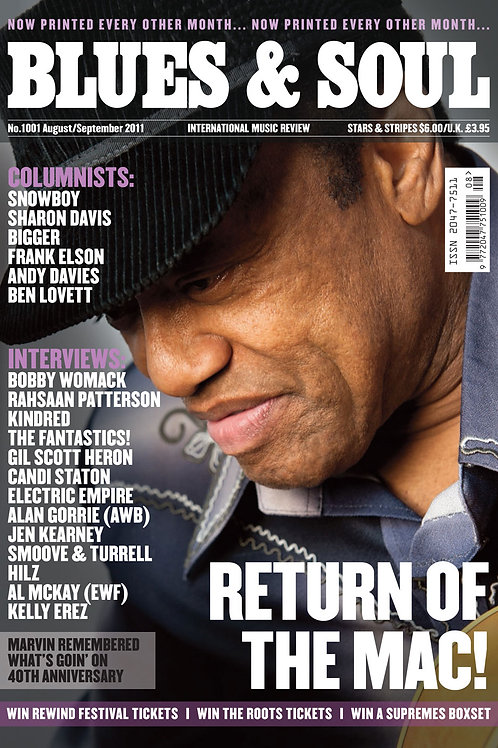 1001: Blues & Soul Magazine - Summer 2011