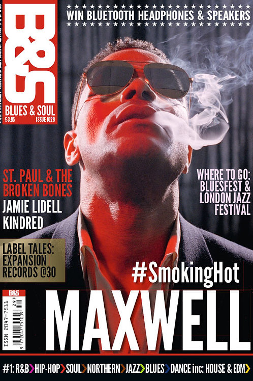 1029: Blues & Soul Magazine November 2016