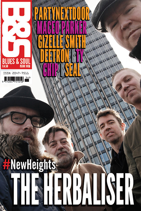 1036: BLUES & SOUL SPRING 2018... THE HERBALISER + dbCLIFFORD DOUBLE COVER