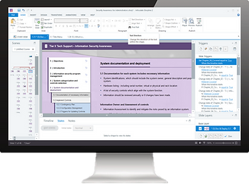 Microsoft PowerPoint to eLearning, converted by Skillspace360
