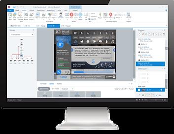 Custom eLearning Module built using Aticuate Storyline by Skillspace360
