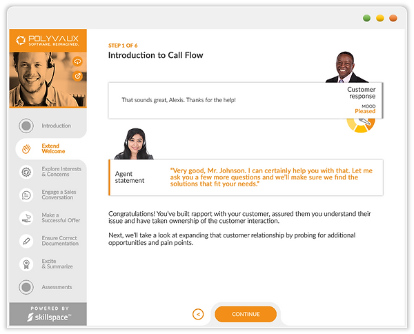 Custom eLearning Module built from ILT handouts for New Hire Orientation using Adobe Captivate by Skillspace360