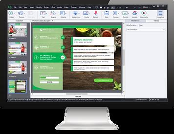Custom eLearning Module built using Adobe Captivate by Skillspace360