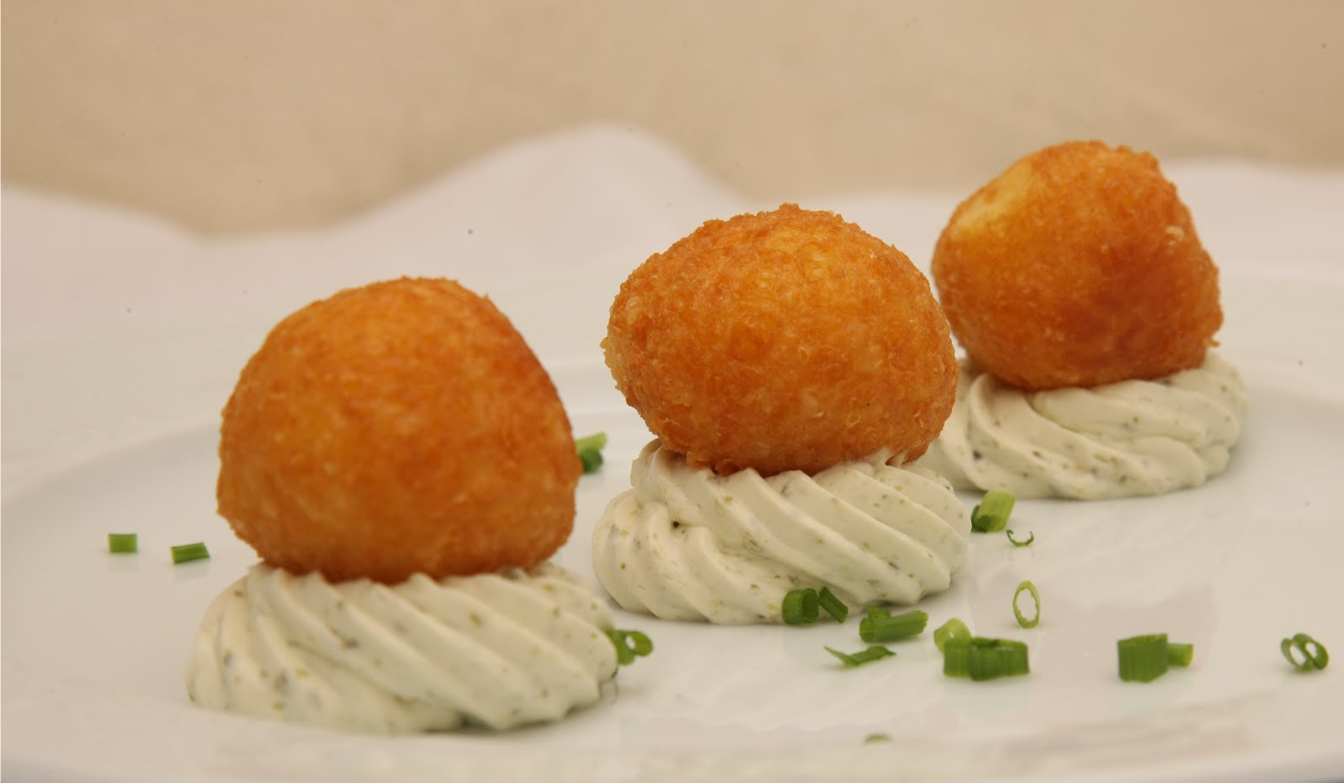 CHEESE CROQUETES