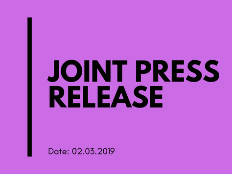Joint press release following the video recorded incident in Bisazza Street, Sliema