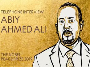 Premio Nobel de La Paz 2019