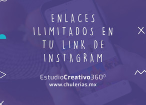 Enlaces ilimitados en tu link de Instagram