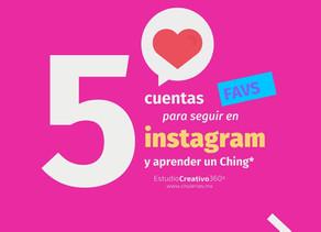 5 cuentas de Instagram para aprender un Ching*.