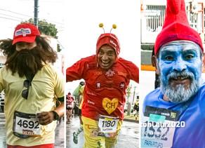 Forrest Gump, el Chapulín Colorado y papá Pitufo corren el #MaratónLALA2020