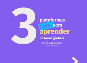 3 plataformas para aprender de forma gratuita.