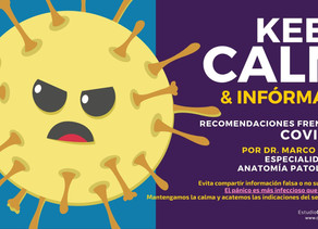 Keep Calm (COVID-19)
