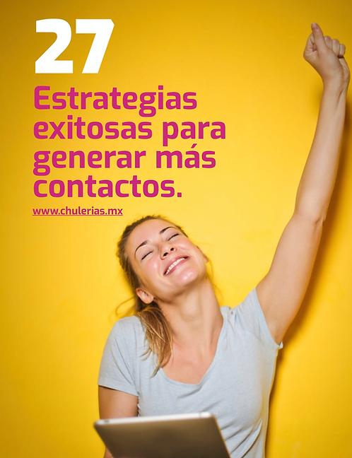 27 estrategias para generar contactos