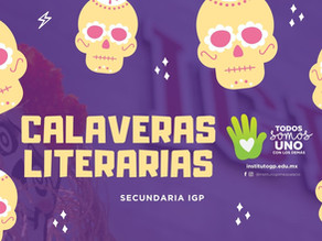 Calaveras Literarias Secundaria