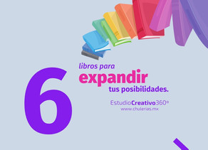 6 libros para expandir tus posibilidades.