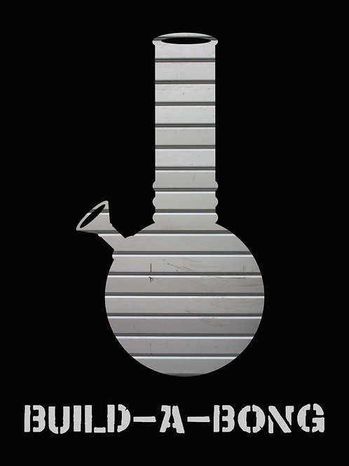 Metal Bong Design T-SHIRT