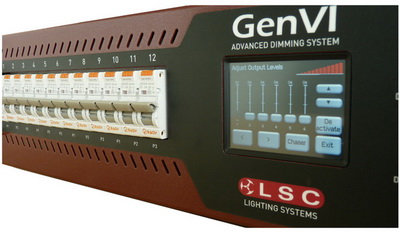 LSC GenVI 12 Kanal Dimmer