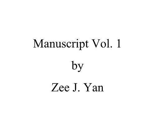 Manuscript Vol. 1