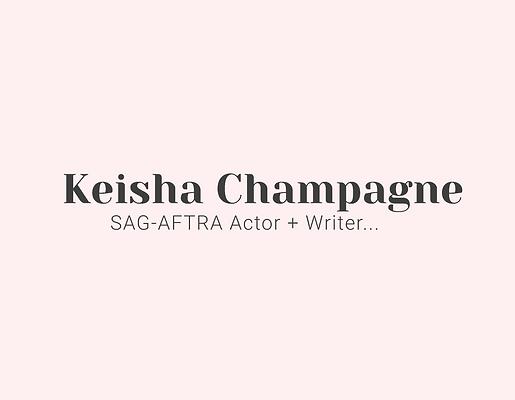 Keisha Champagne Logo