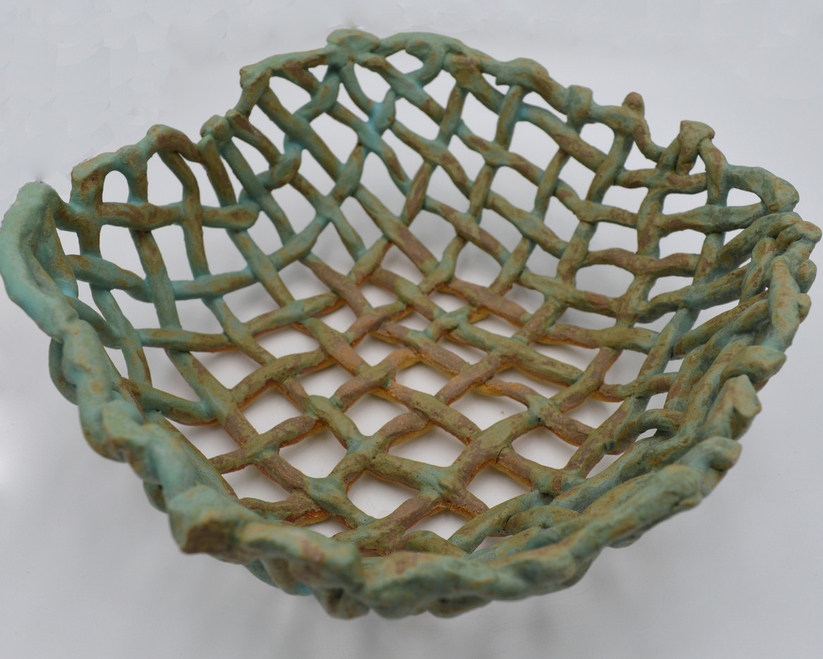 Turquoise Basket (top)
