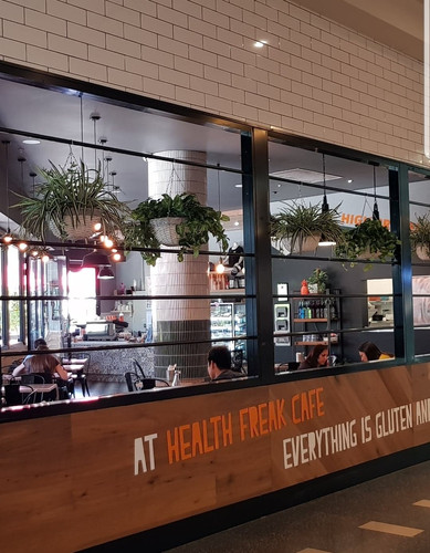 Hanging Baskets - Health Freak Cafe, Joo