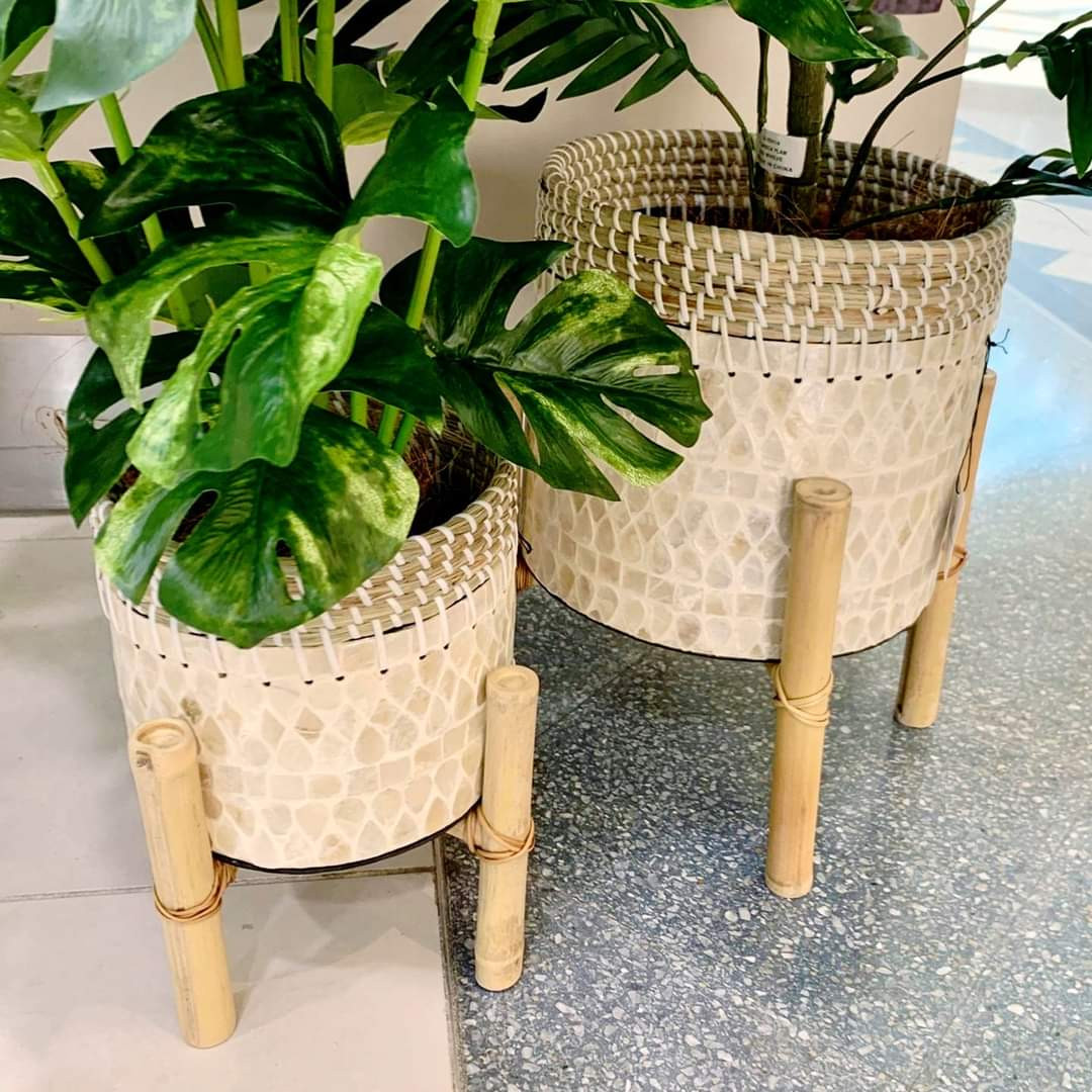 Now Back In-Stock/ Odawa Planters (M) $59.99 (L) $79.99