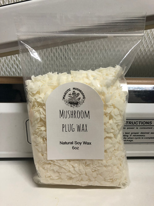 Natural Soy Wax for plugs 6oz